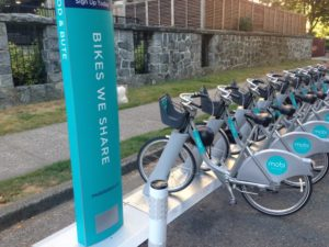 Vancouver Bike Share Program and Bike Helmets
